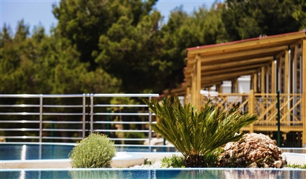7006 Belvedere Trogir Mobile homes pool