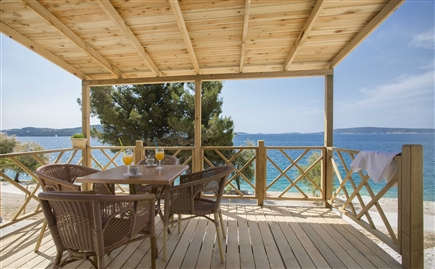 7007 Belvedere Trogir Mobile homes sea view terrace