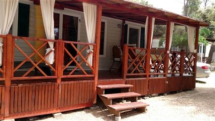urlaub in kroatien mobilheim in camping park soline. Black Bedroom Furniture Sets. Home Design Ideas