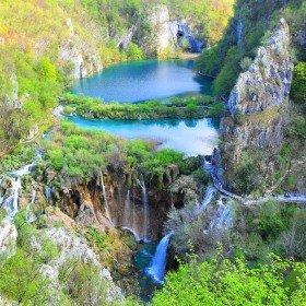 Urlaub Mobilheim Kroatien Plitvica See